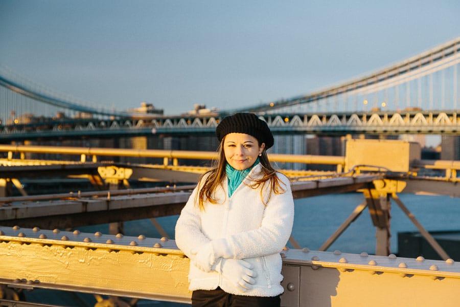Sunset Brooklyn Bridge
