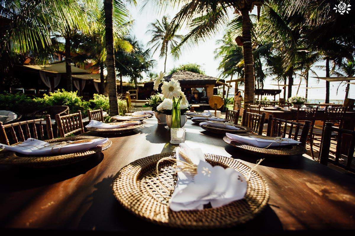 Casamento na Praia do Cumbuco por Arthur Rosa