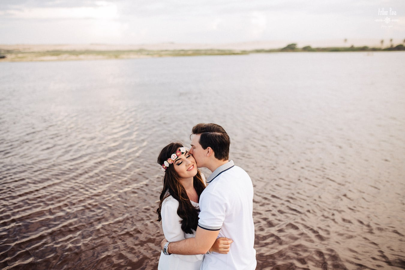 Ensaio pré-casamento na Prainha de Aquiraz.