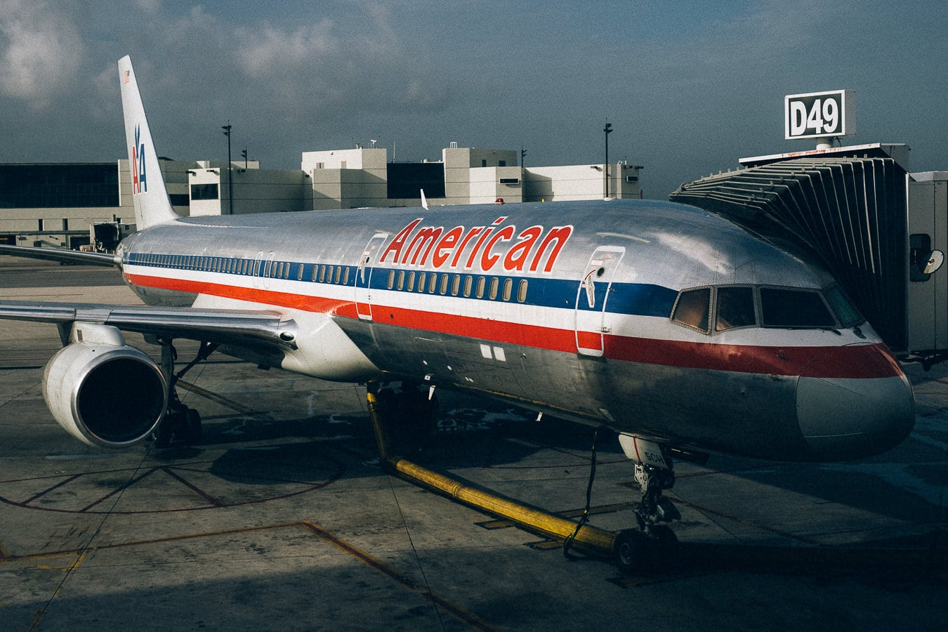 American Airlines Airplane at MIA