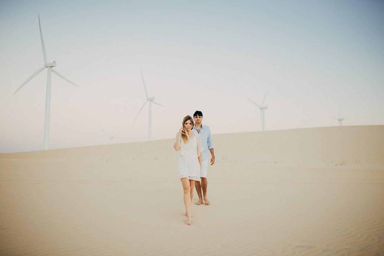 Fotos pré-casamento na Praia da Barra em Beberibe-CE