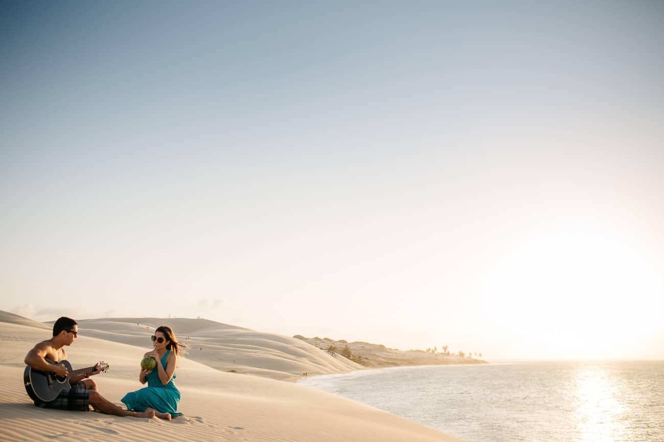 lindas fotos de casal na praia