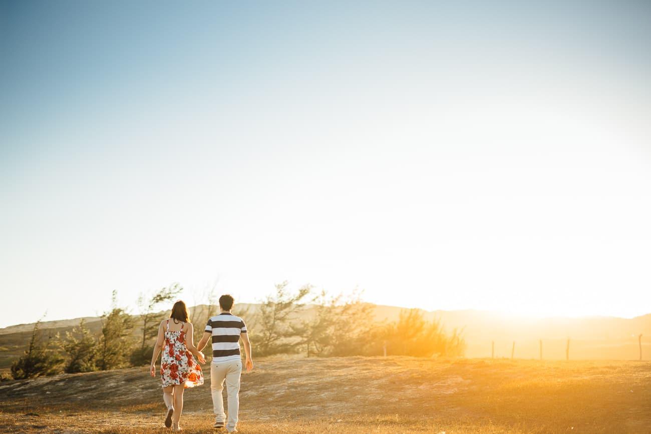 fotos bonitas de casal ao por do sol
