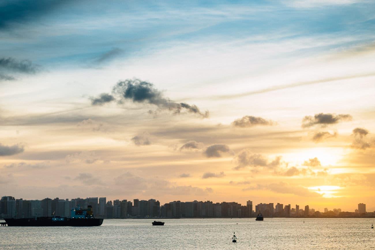 Casamento no por do sol em Fortaleza