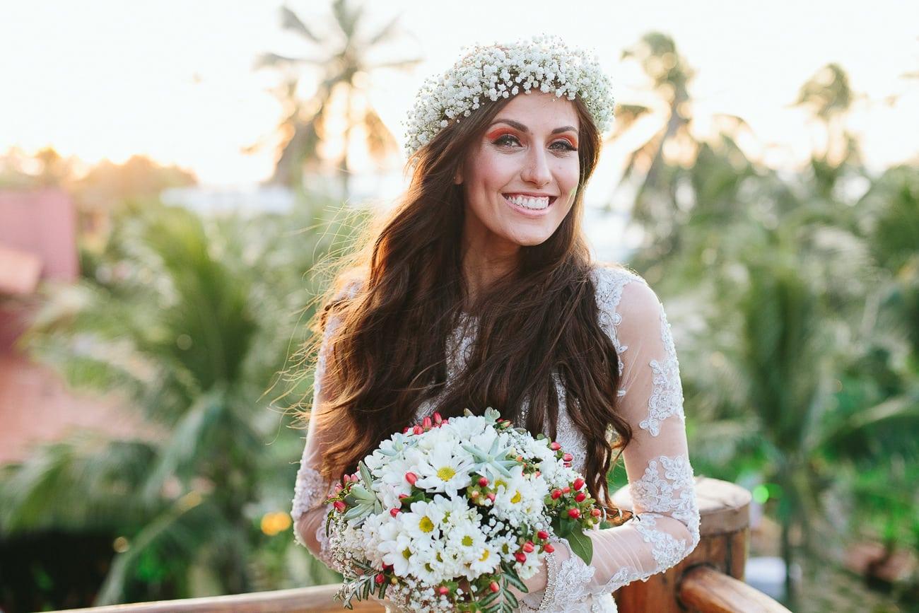 Noiva em Casamento na Praia do Cumbuco