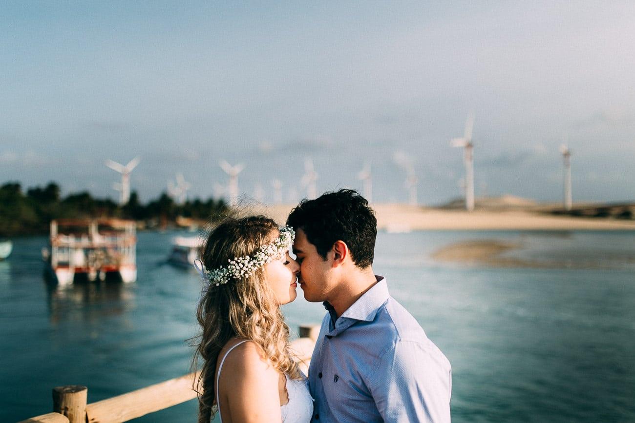 Fotos de Sessão Pré-Casamento na Praia de Mundaú, Ceará