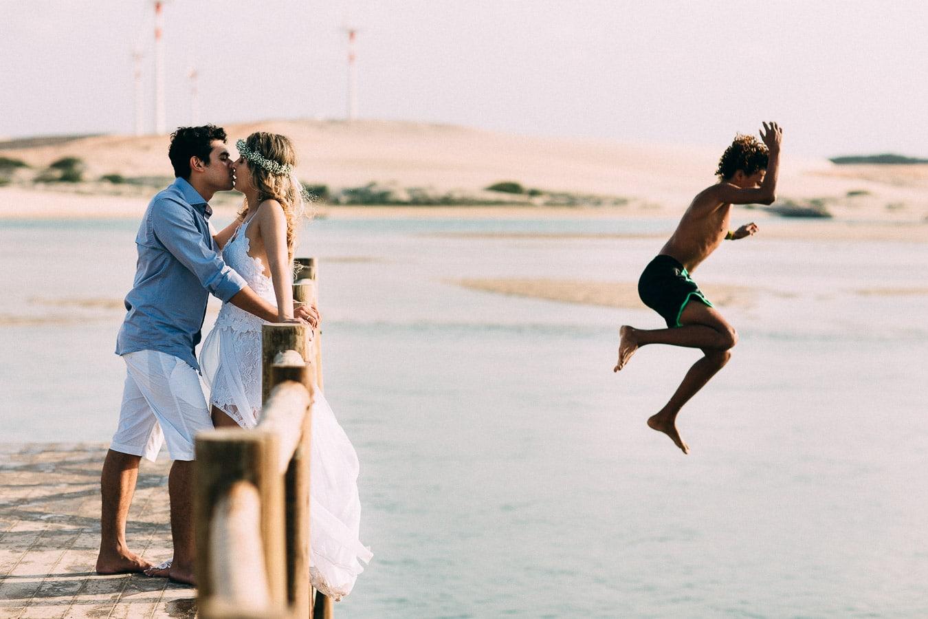 sessão de fotos na praia de mundaú