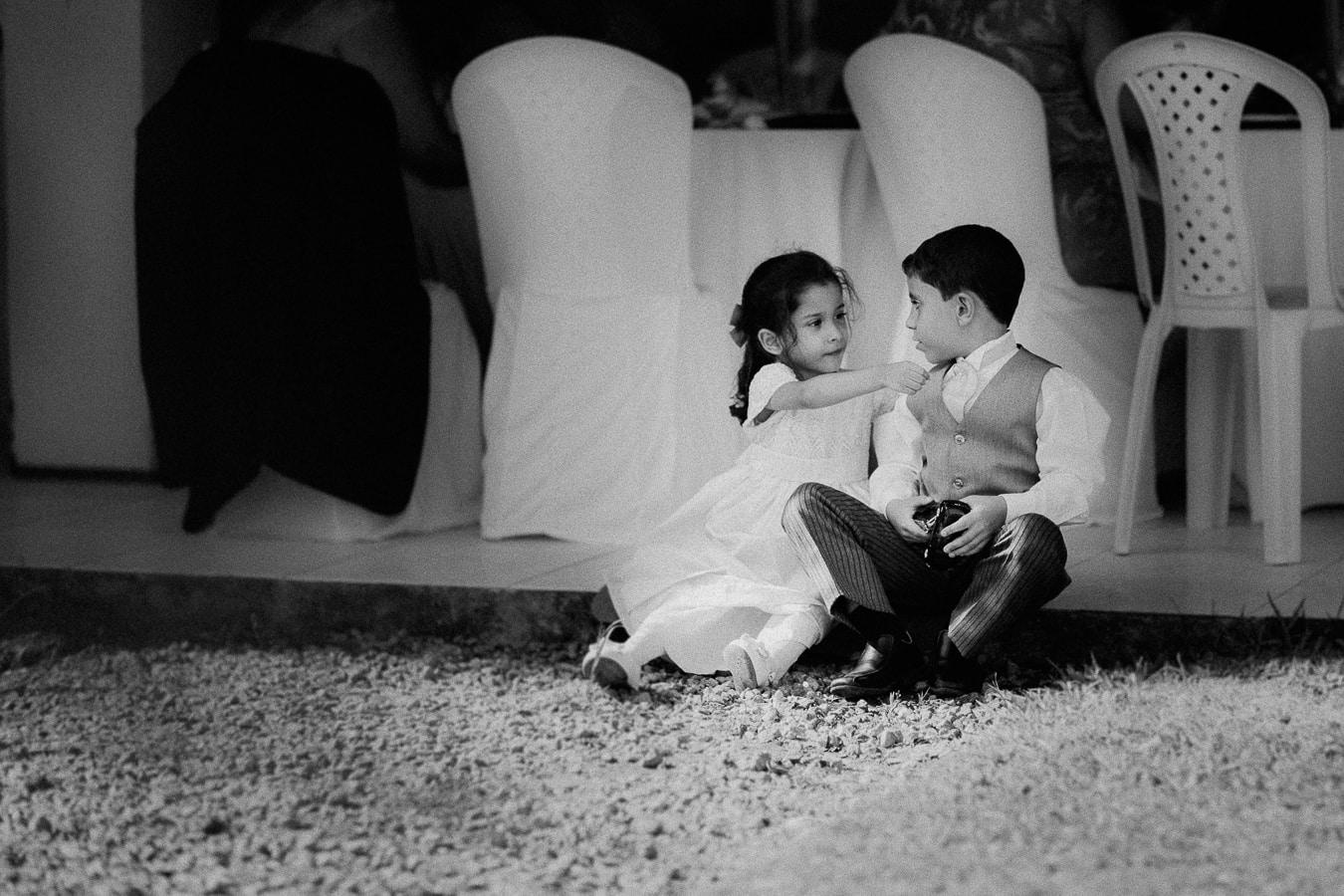 Fotografias de Crianças em Casamentos. Dama de honra e Pajem por Arthur Rosa.