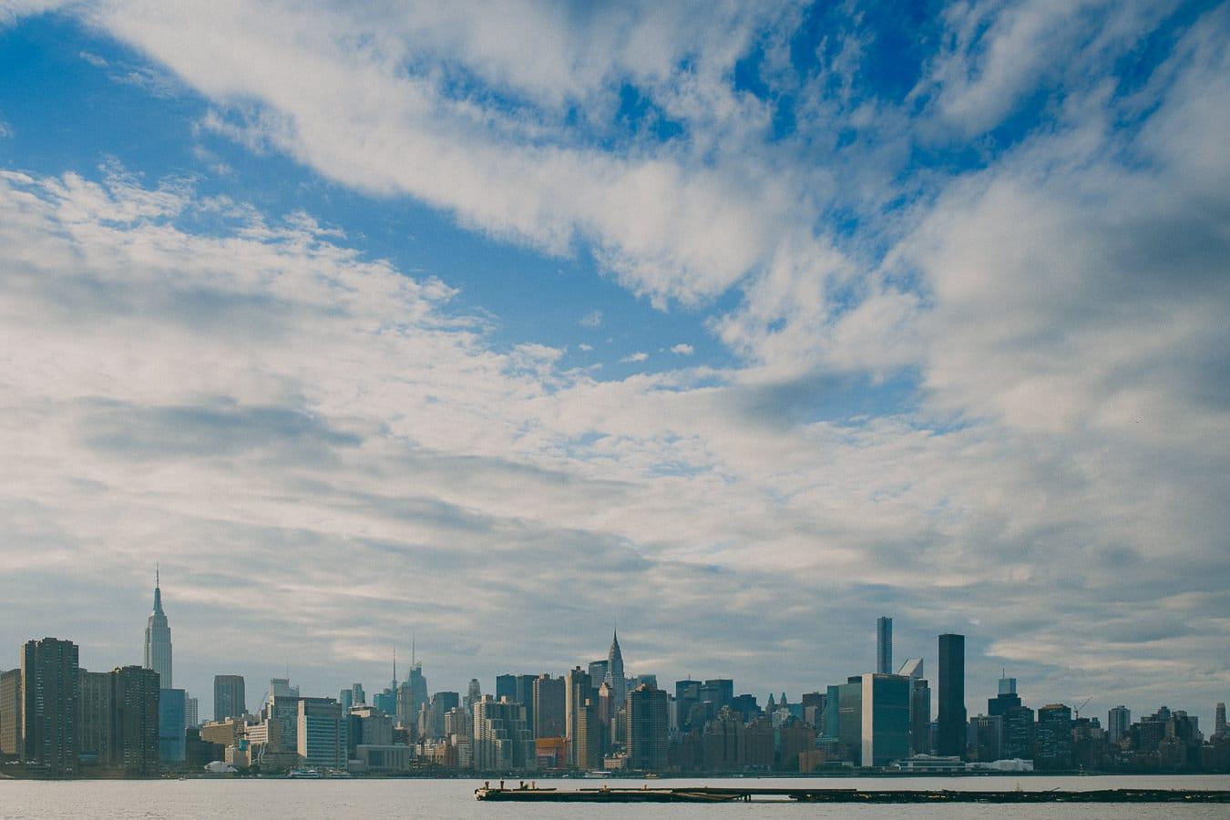 New York Skyline seen from Brooklyn