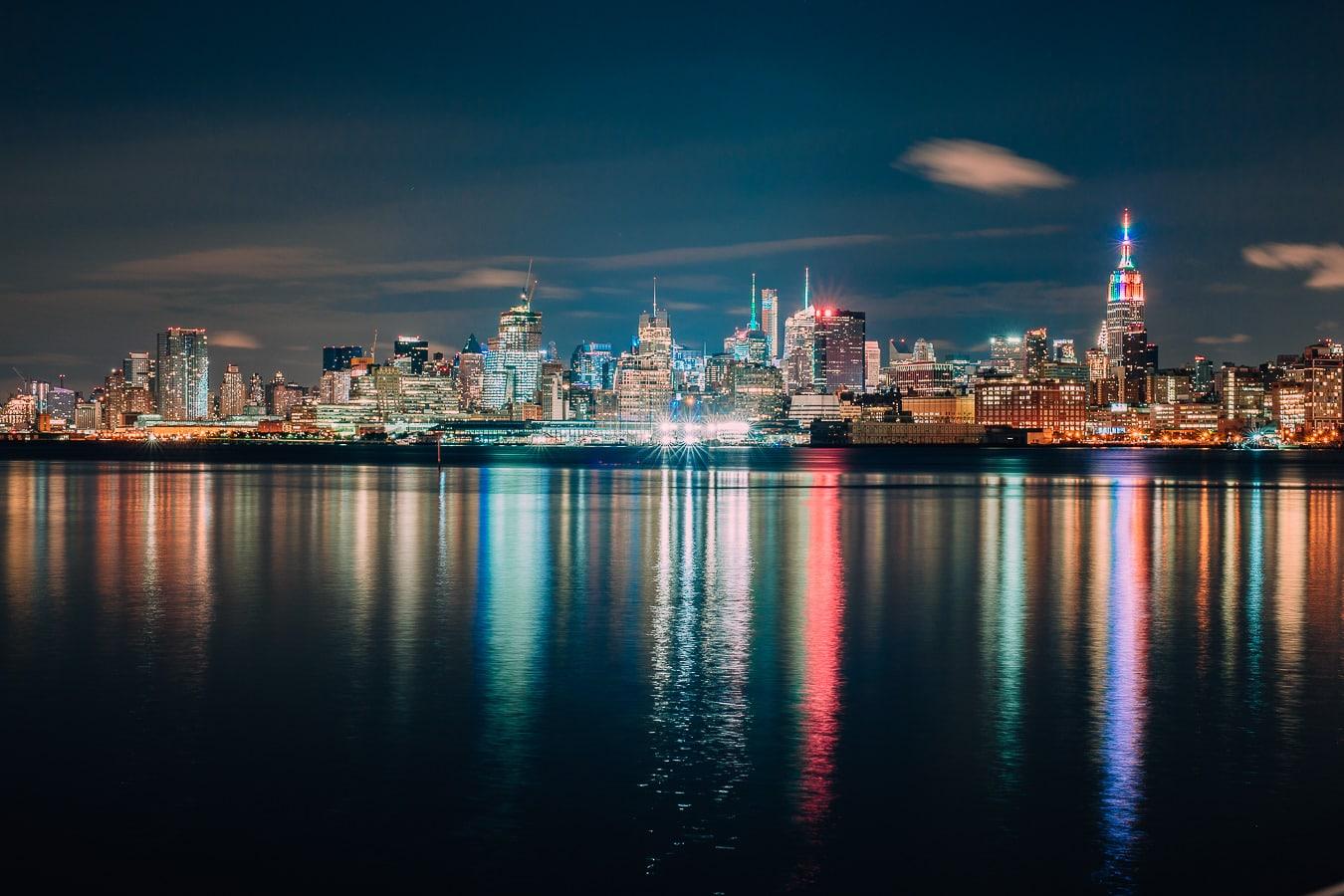 Hoboken New York Skyline