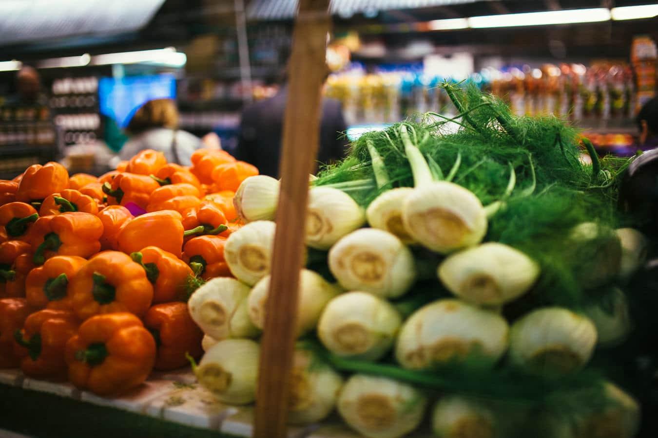 Vegetables at Chelsea Market