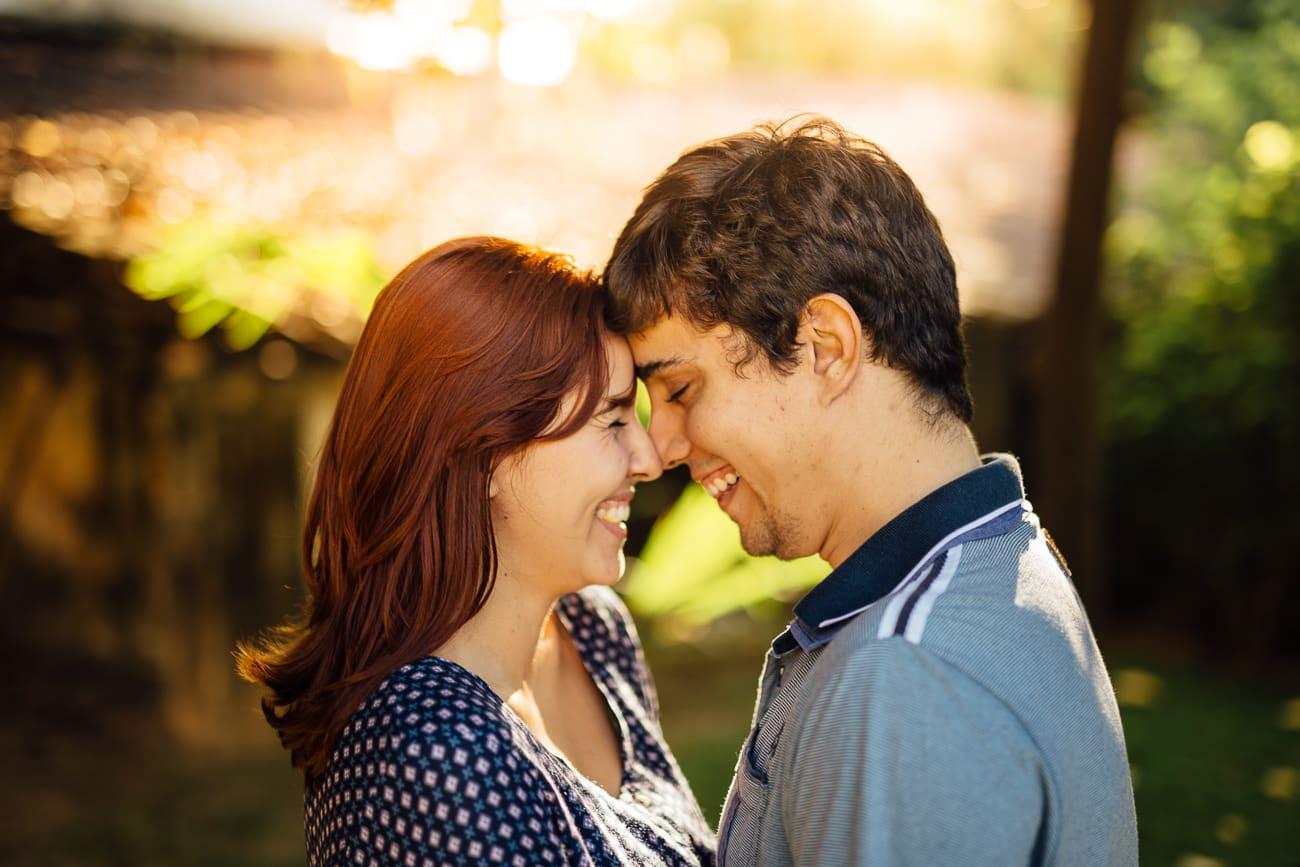 fotos de casal sorrindo