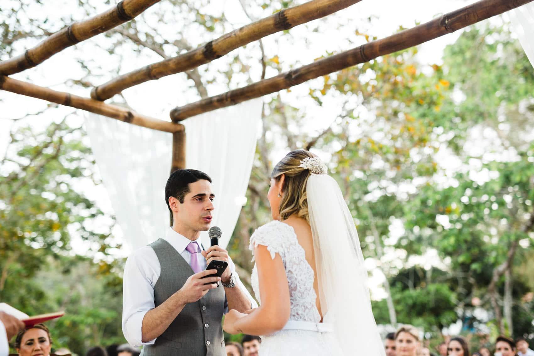 Casamento Jessica Rosa e Osvaldo Bitu no Sítio na Serra de Guaramiranga