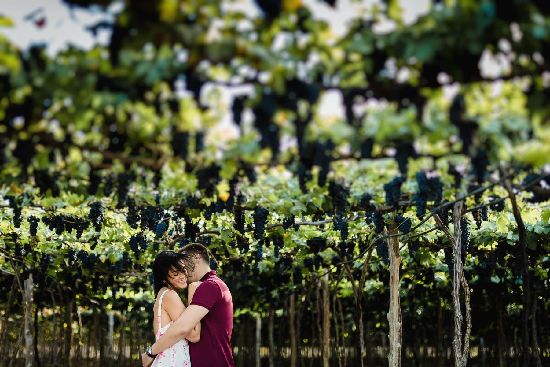 sessão de fotos pré-casamento em vinícola de petrolina