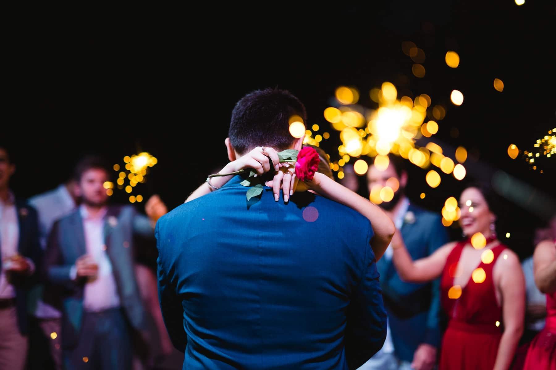 festa de casamento animada sparkles