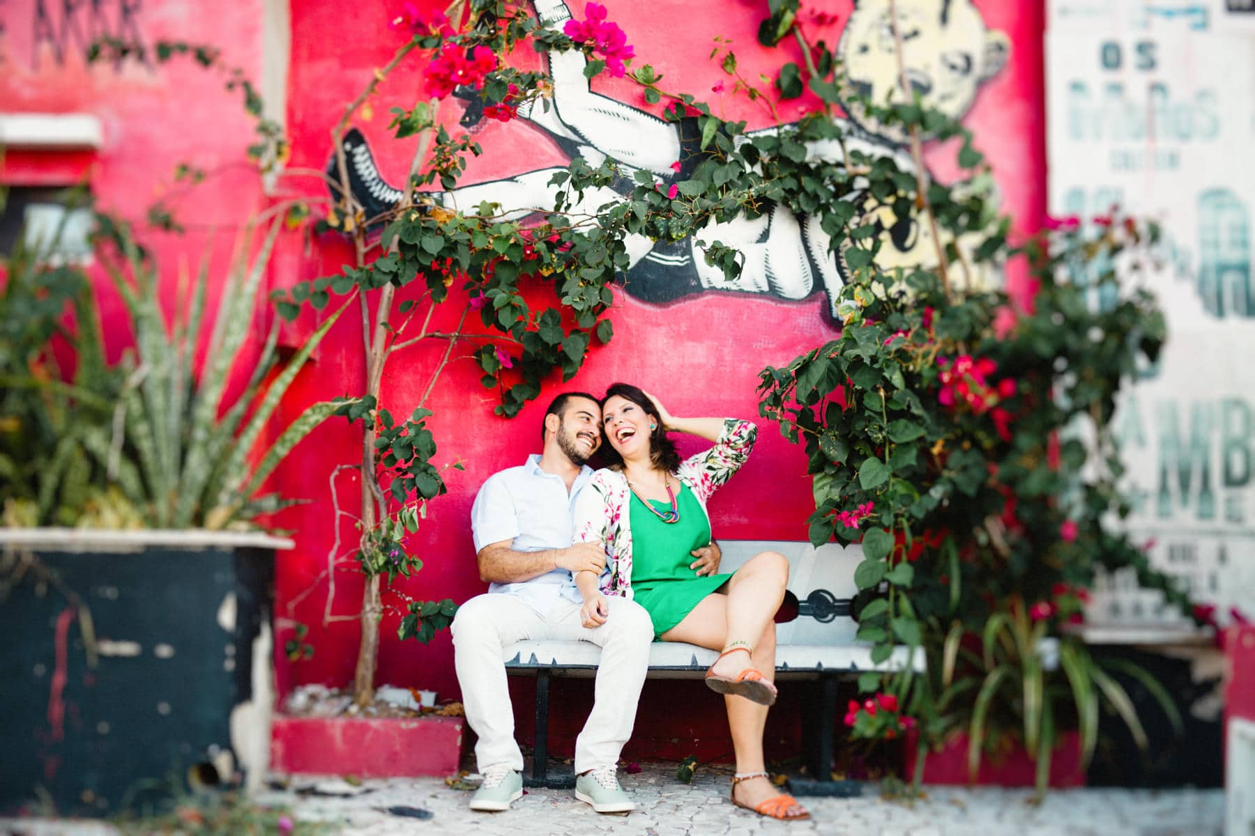 fotos de casal na rua