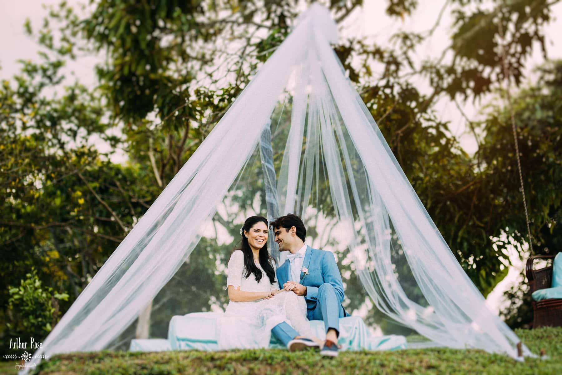 fotos de casal em tenda