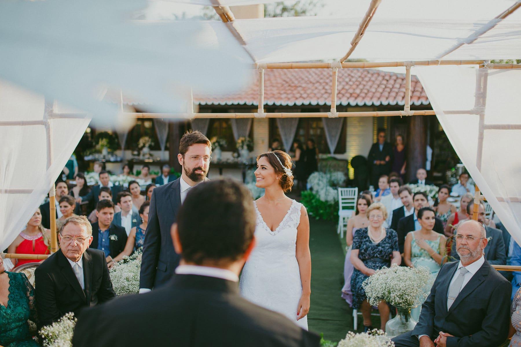 casamento em casa de praia porto das dunas