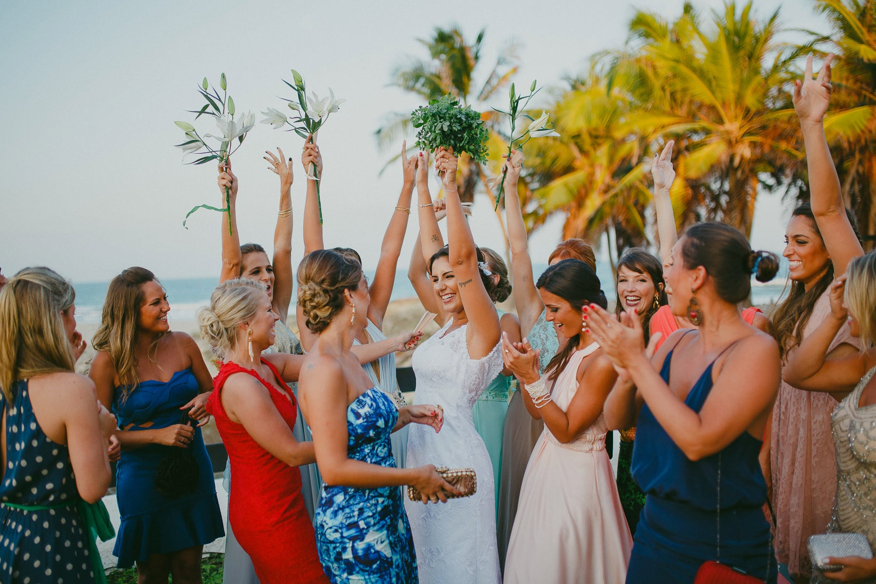 casa de praia porto das dunas casamento