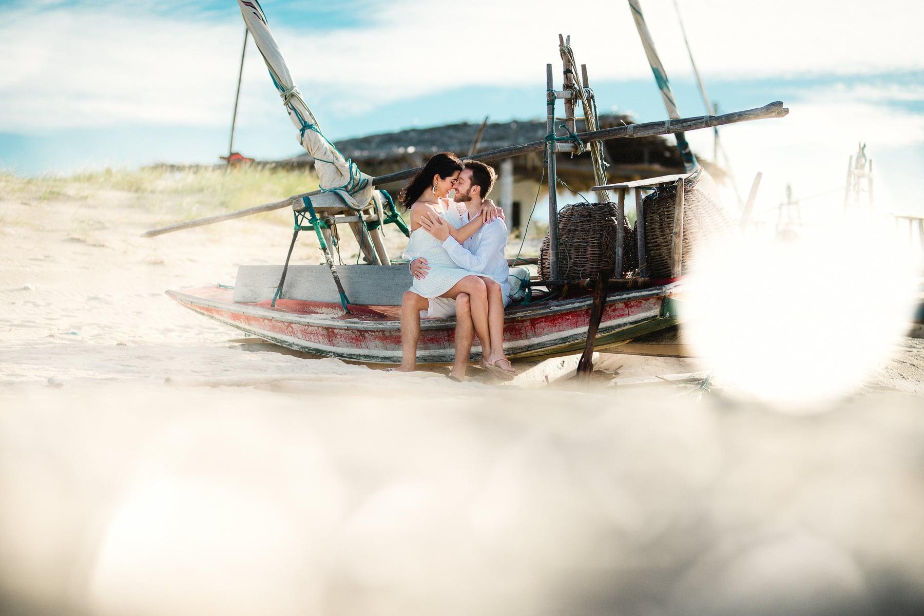 fotos de casal no barco