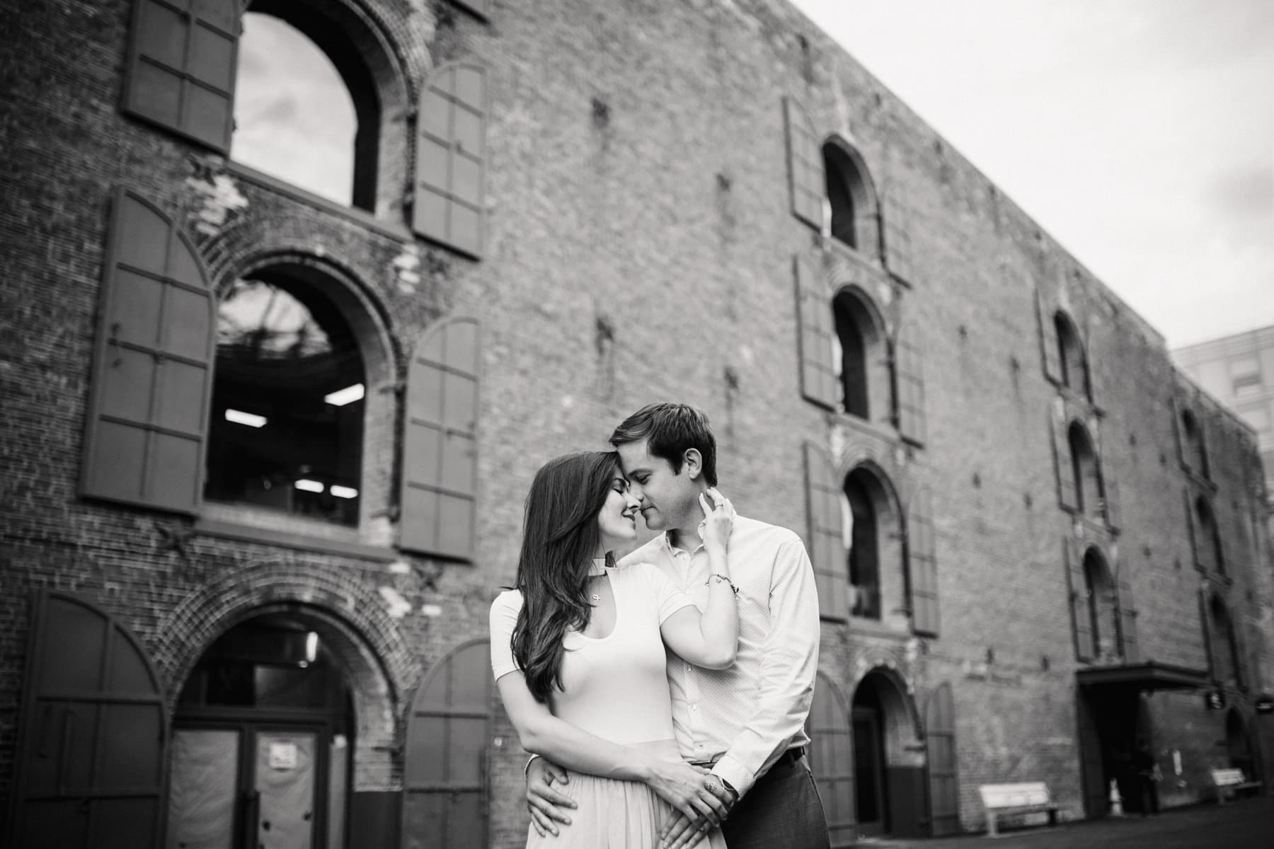 nyc brooklyn engagement photos