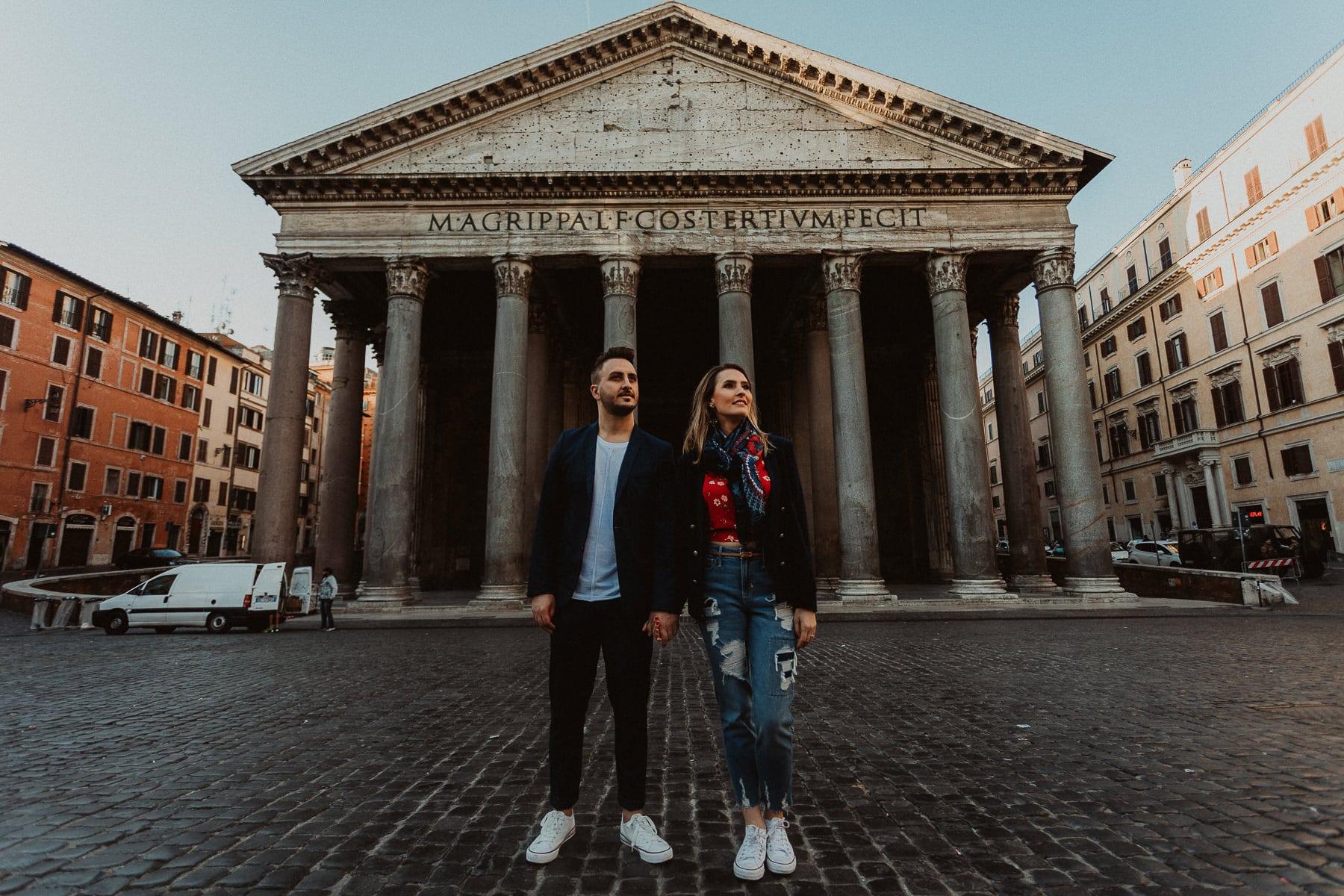 fotografo de casamento em roma