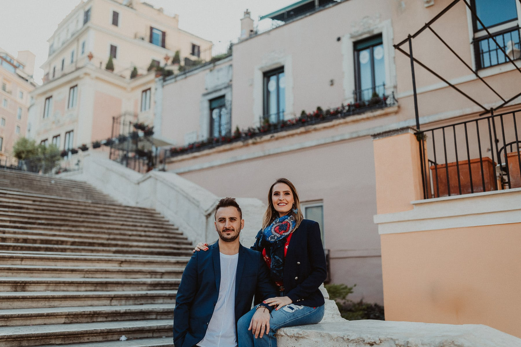 book de casal em roma