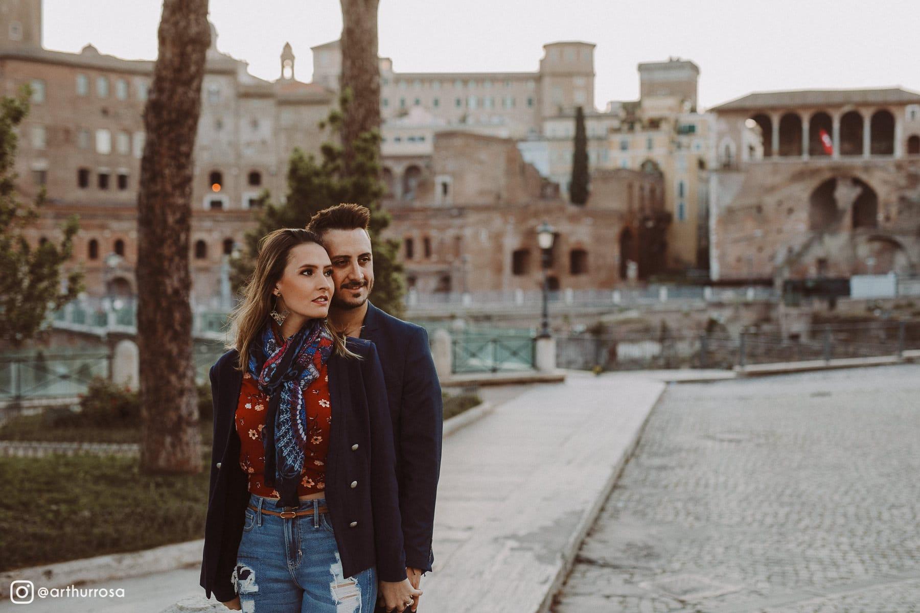 ensaio fotografico em roma
