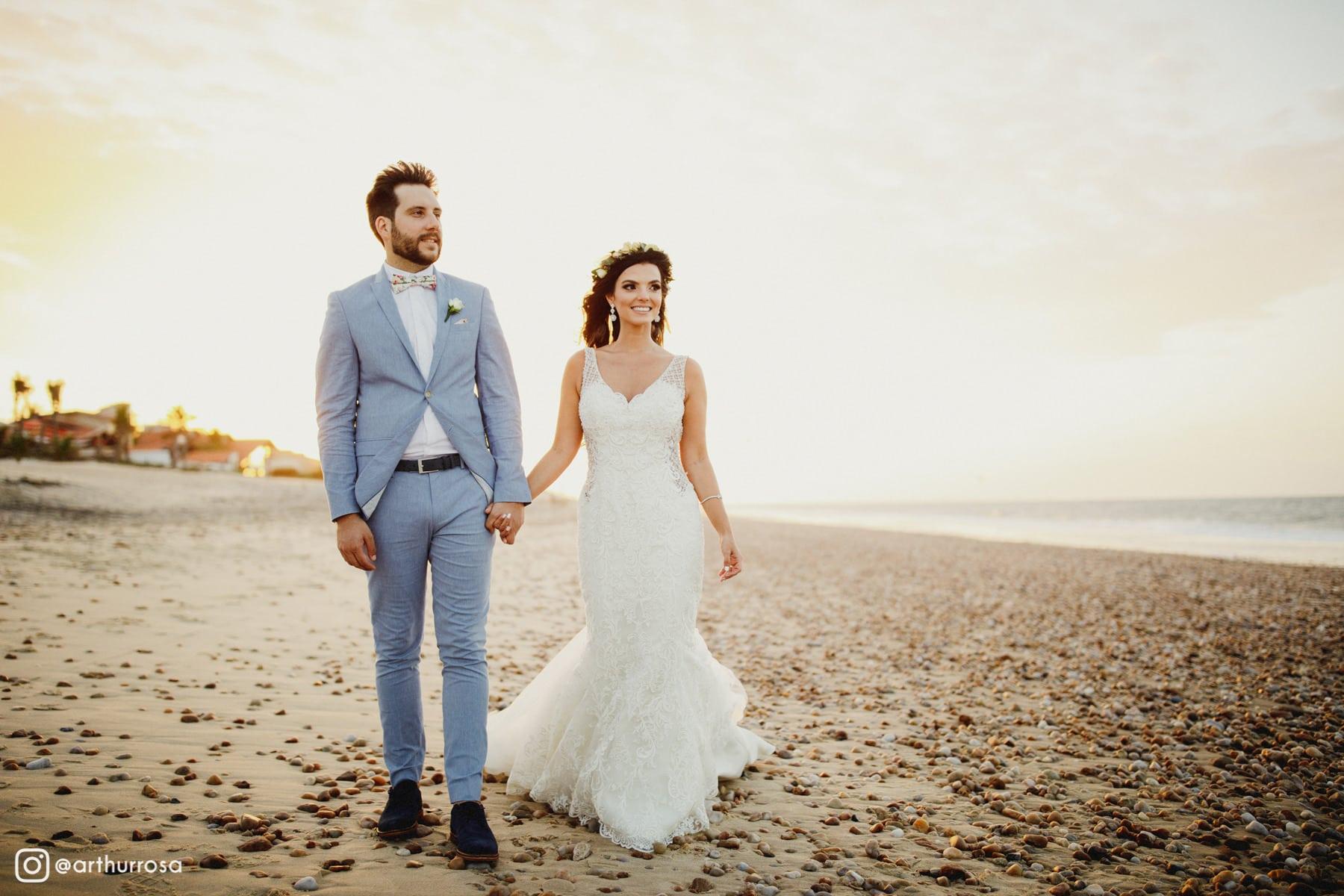 casamento na praia da tabuba