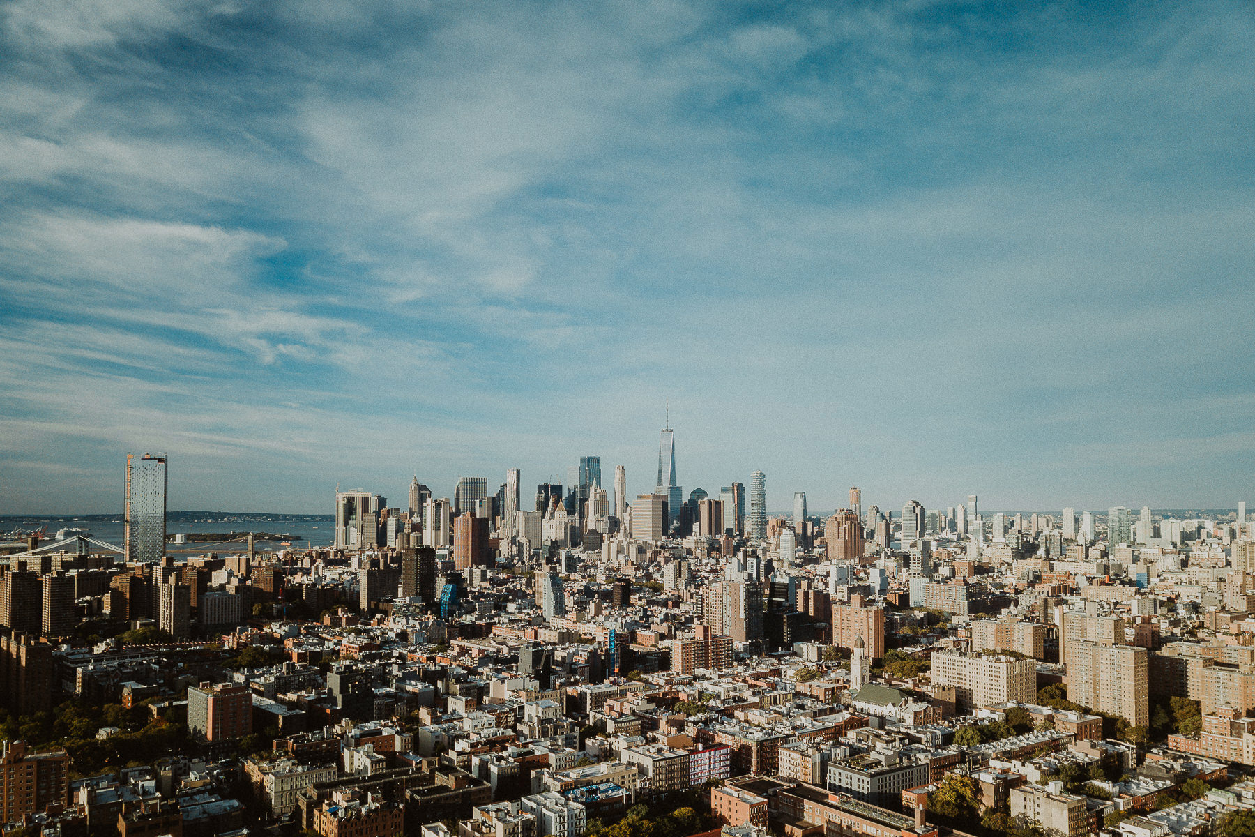 nova york foto de drone