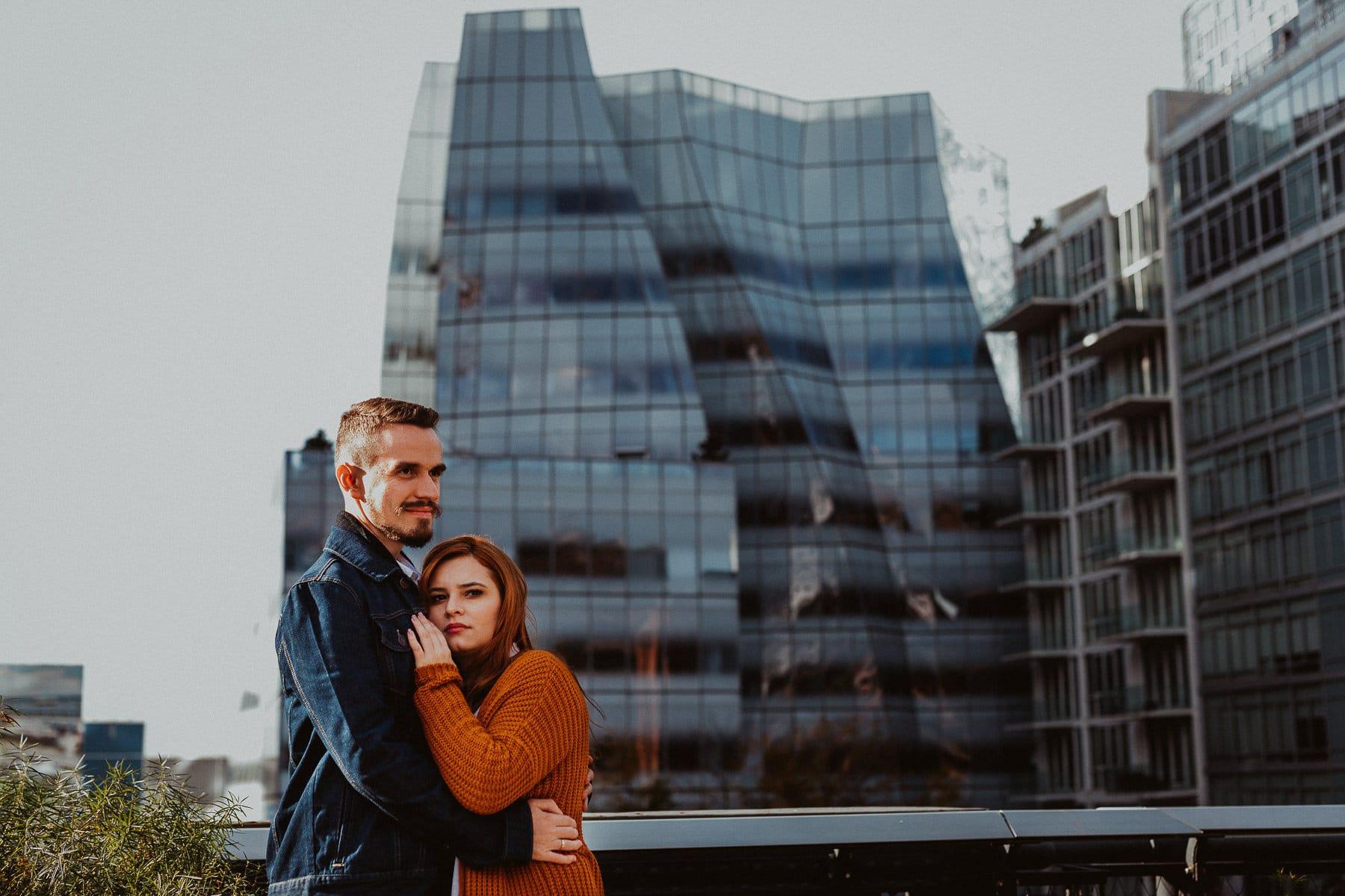 ensaio de casal em nova york